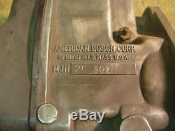 American Bosch MJH 2C301 2 Cylinder John Deere Magneto A B G Long Lug