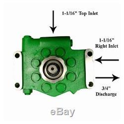 Hydraulic Pump fits John Deere Models Listed Below AR103033 AR103036 AR39168