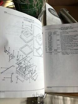 JD John Deere antique tractor 50 Owners Manual, parts catalogue, and IT repair