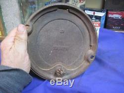 JOHN DEERE MOLINE HORSE DRAWN SEED corn BOX planter lid cast iron cover ORIGINAL