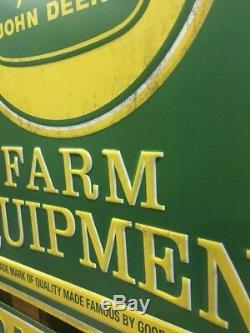 JOHN DEERE Parts Service Tractor Metal Farm Equipment Signs Tractors