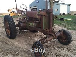 JOHN DEERE UNSTYLED GW G WIDE FRONT 1 Of 5 FIRST ONE MADE! WOW