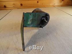John Deere 60 Original Tachometer and Bracket Speed Hour Meter