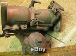 John Deere A Tractor DLTX8 Brass Carburetor Marvel Schebler