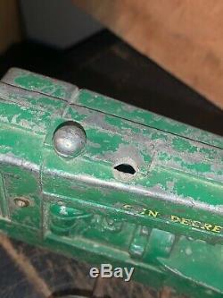 John Deere Antique Toy Tractor parts or restore
