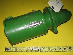 John Deere B 1941-1947 rebuilt starter Delco 1107445 6V B232 1 year warranty