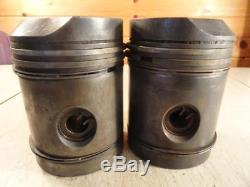 John Deere B Oversized Pistons. 045 Cast Iron AB2993R B2725R Gas