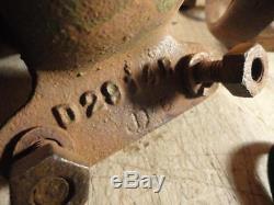 John Deere D 1939 A B Front Head Light Brackets and Bolts D2914R