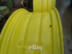 John Deere Rear wheel double bevel Rims 14 38 60 70 620 630 720 730 3010 4020
