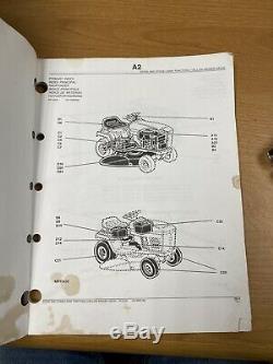 John Deere Stx30 & Stx38 Lawn Tractor Parts Catalog Manual Pc2232