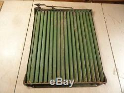 John Deere Styled A Nice Radiator Shutter Part number AA2240R 1940 to 1947