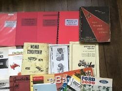 Large Lot Tractor Mower Farm Service Manual Owners Parts Brochures John Deere +