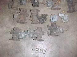 Lot Of 13 Zenith TU4C Carburetors For Rebuild Caterpillar John Deere Pony Motor