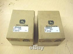 NOS Genuine John Deere H Pistons. 030 H810R AH1047R HN HNH HWH One Pair