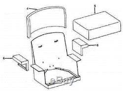 New Seat Made To Fit John Deere Crawler Dozer 420 430 440 1010 2010