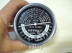 Nos Genuine John Deere 80 820 830 840 Tachometer Speed Hour Meter Ar1317r