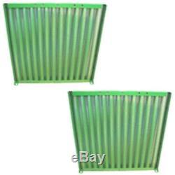 Pair Grill Side Screens For John Deere 4040 4230 AR65459