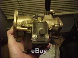Rebuilt Marvel Schebler Brass Body DLTX 6 John Deere D Tractor Carburetor 2 Year