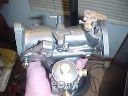 Rebuilt Marvel Schebler DLTX 34 John Deere B Tractor Carburetor 2 Year Warranty