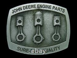 Ub07125 Nos Vintage 1996 John Deere Engine Parts Tractor Belt Buckle