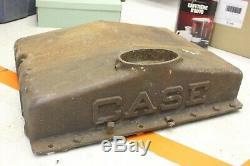 Vintage CASE Antique Tractor Cast Iron Radiator Part