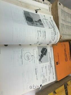 Vintage John Deere (Nov 86) Parts Catalog PC-2089 & Technical Manuals TM-1115