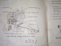 Vintage John Deere Operators & Parts Manual- # 5 Power Mower