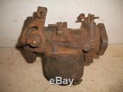 Vintage Marvel Schebler DLTX 67 Carburetor John Deere B Tractor For Rebuild