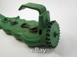 Vintage john deere cast iron acre counter part antique y262m implement tractor